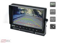 """Парковочный монитор 10.1"""" для грузовиков и автобусов AVS4711TM (AHD)"""