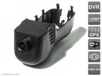 Штатный автомобильный Ultra HD (1296P) видеорегистратор AVS400DVR (#102) GPS для VOLKSWAGEN Touareg