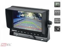 """Парковочный монитор 7"""" для грузовиков и автобусов AVS4714BM (AHD)"""