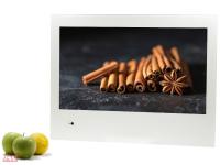 Телевизор для кухни AVEL AVS240K (белая рамка)