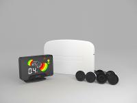 Парковочный радар ( парктроник) AAALINE LCD-16, 6 датчиков