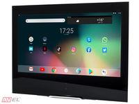 Сенсорная Android панель для кухни AVS245K (черная рамка)
